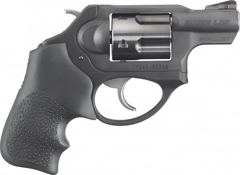 Ruger 5464 Lcrx 9mm 1.875 HOG Black Revolver