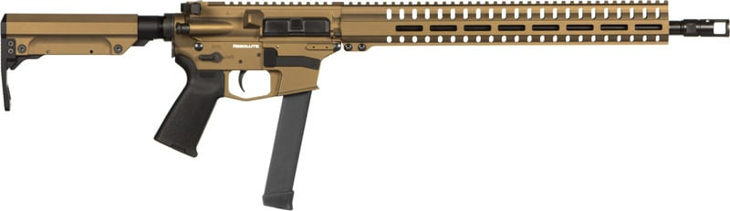 CMMG 99AE65ABB Rifle Resolute 300 MKGS 9MM(GLOCK) 33rd Burnt Bronze