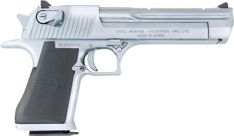 """Magnum Research DE44L5BC DE 44MAG LWT 5"""" IMB Black/CHROME"""