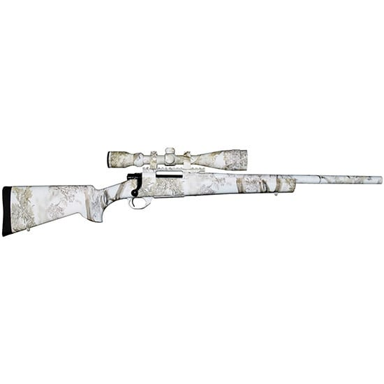 Legacy Sports HGK91207SNW Howa Snowking Combo 22-250REM 24 HB 4-16x44