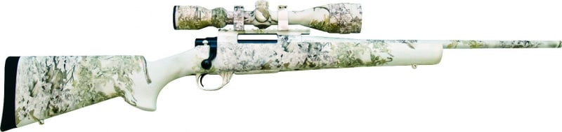 Legacy Sports HGK91227SNW Howa Snowking Combo 22-250REM 20 HB 4-16x44