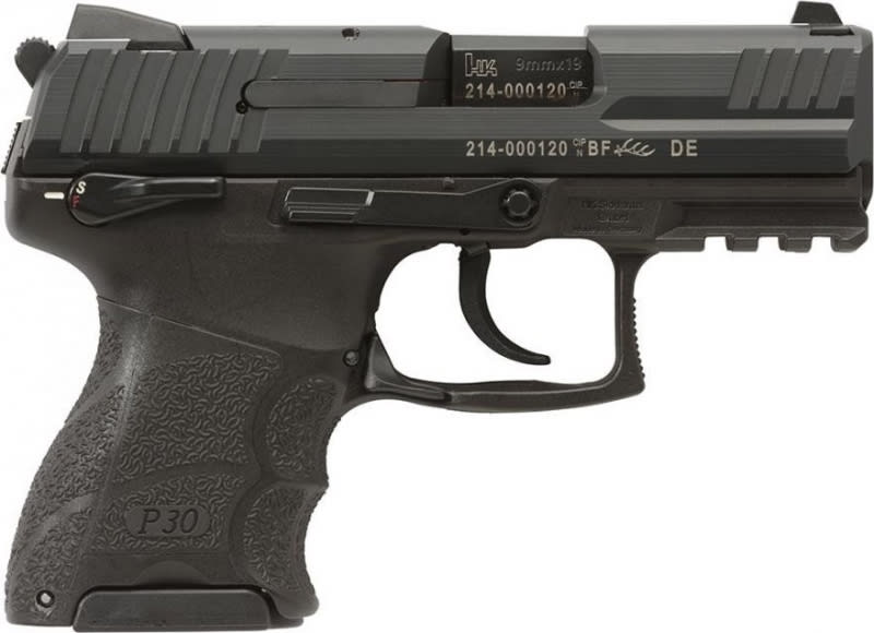 """Heckler & Koch 930SK V3 9mm Pistol, 3.27"""" Subcompact Ambi Safe & Decocking Button 2 10rd - HK 730903KSA5"""