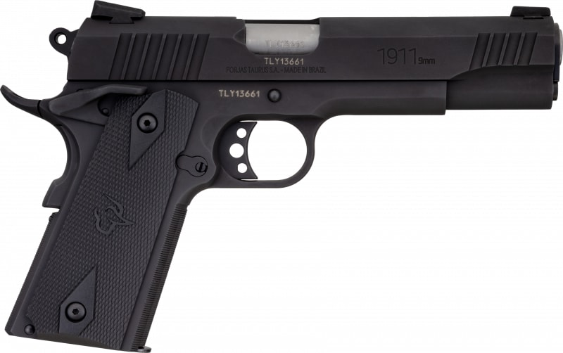 Taurus 11911019MM 1911 9rd Black/Black