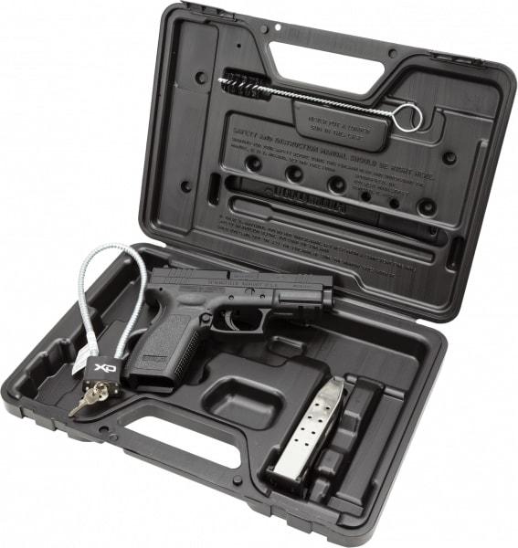 "Springfield XD9102 XD Essential Pkg *CA Compliant* DAO 40 S&W 4"" 10+1 Poly Grip/Frame Black"
