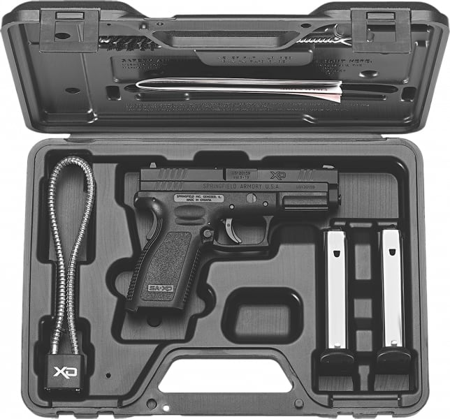 "Springfield XD9101HC XD Essential Package DAO 9mm 4"" 16+1 Poly Grip/Frame Black"