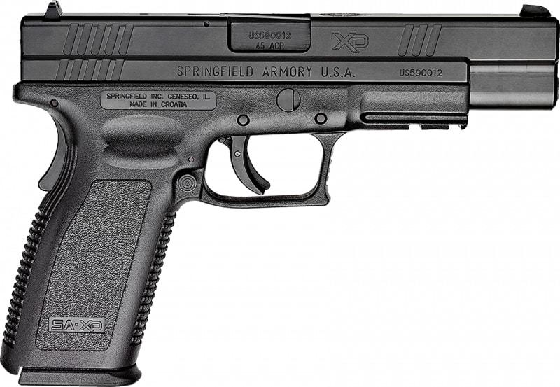 "Springfield Armory XD9621 XD 45 ACP *CA Compliant* Single .45 ACP 5"" Grip"