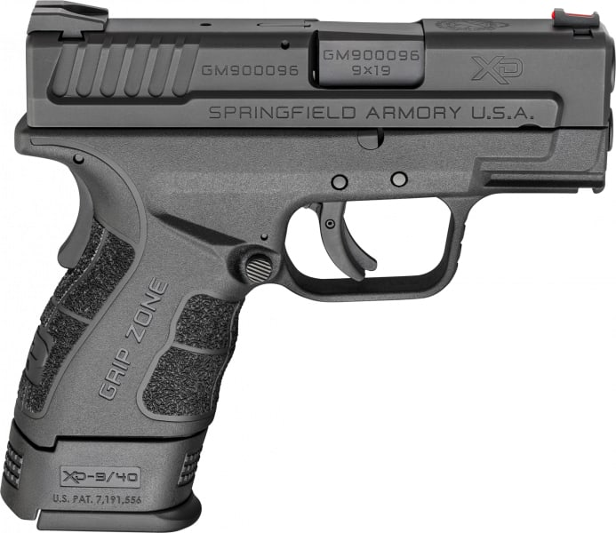 "Springfield Armory XDG9801 XD Mod.2 Sub-Compact Double 9mm 3"" 10+1 Black"