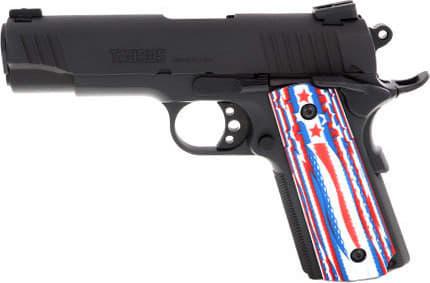 "Taurus 11911COMUSGR2 1911 COM. 4.25"" FS Black w/STARS AND Stripes"