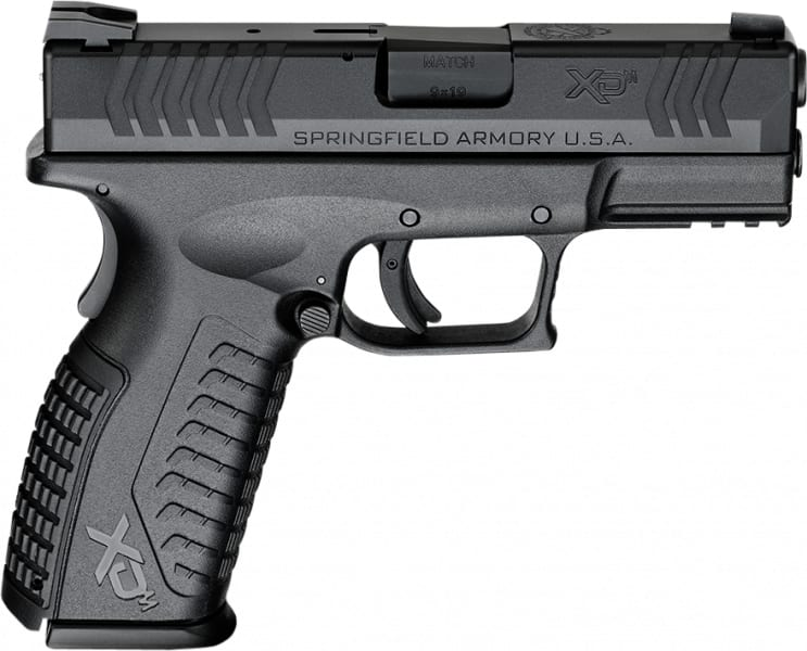 "Springfield Armory XDM9389BHCE XD(M) Full Size Black Double 9mm 3.8"" 19+1 Black"
