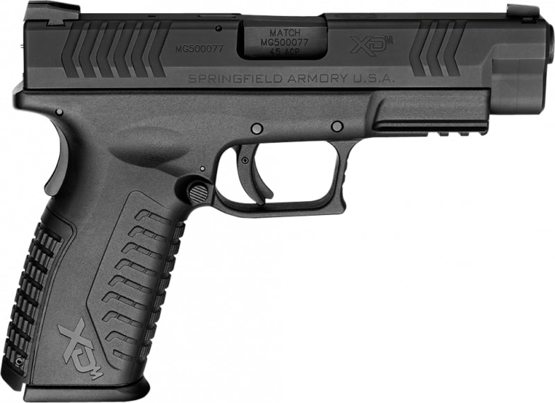 "Springfield Armory XDM94545BE XD(M) Full Size Double .45 ACP 4.5"" 10+1 Black"