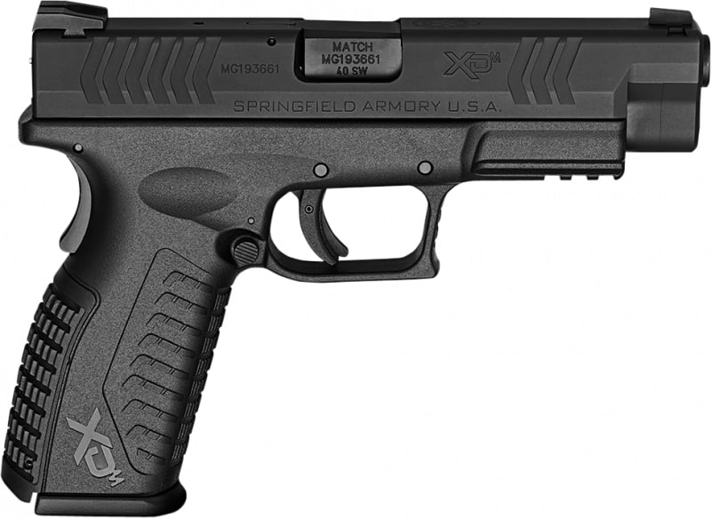 "Springfield Armory XDM9202HCE XD(M) Full Size Double .40 S&W 4.5"" 16+1 Black"