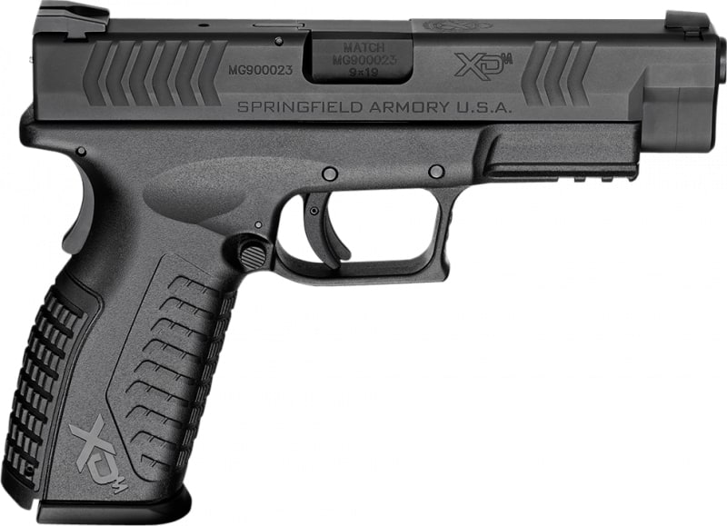"Springfield Armory XDM9201HCE XD(M) Full Size Double 9mm 4.5"" 19+1 Black"