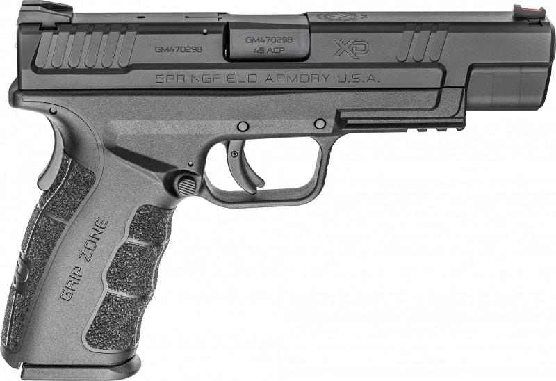 "Springfield Armory XDG9545BHC XD MOD.2 Double 45 ACP 5"" 13+1 Black Polymer Grip Black Carbon Steel"