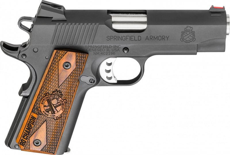 "Springfield Armory PI9137L 1911 9mm 4"" 8+1 Cocobolo Grip Black Parkerized"