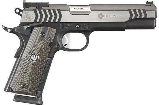 Ruger 6776 SR1911 Doug Koenig Competition 8-SHOT
