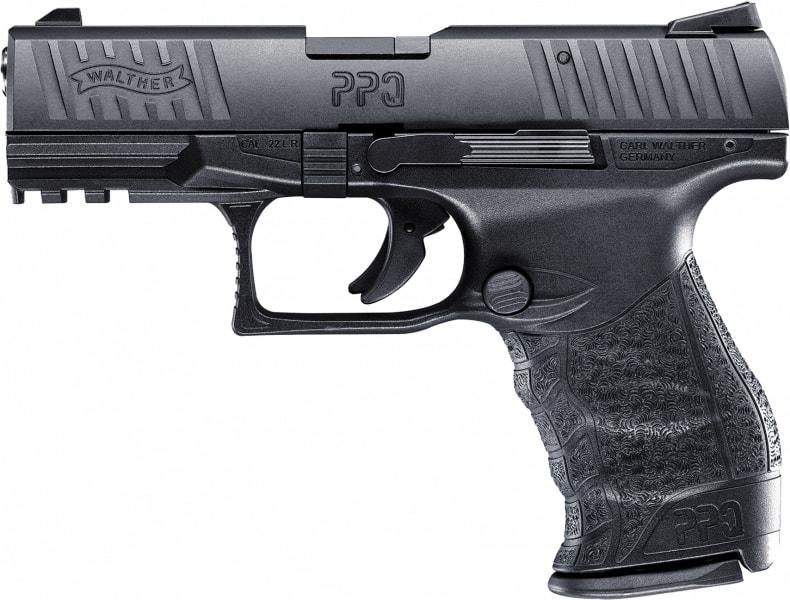 "Walther 5100303 PPQ M2 .22 22 Long Rifle 4"" 10+1 Black Poly Grip Black Finish"