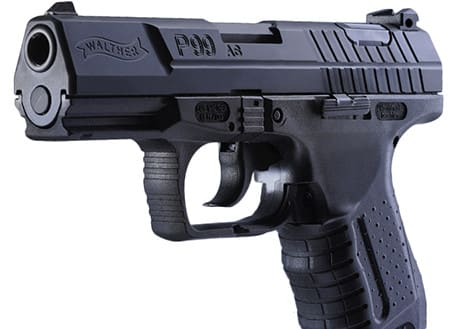 """Walther Arms 2796326 P99 Double 9mm 4.0"""" 10+1 Polymer Grip Black"""