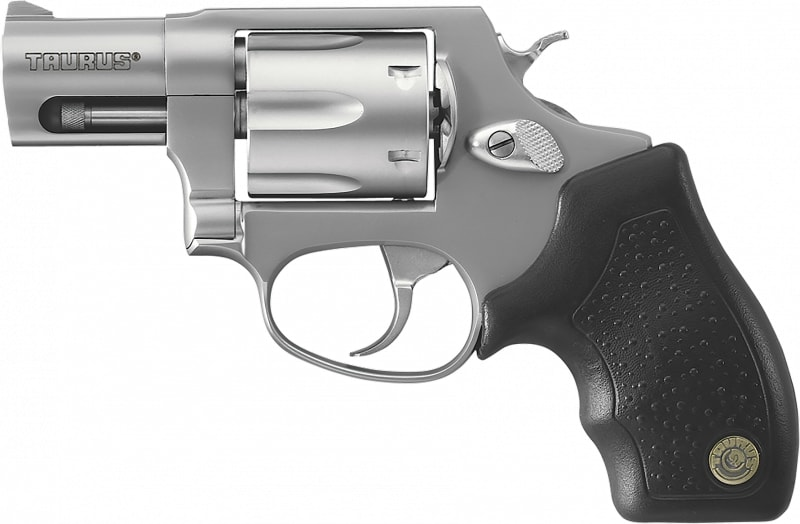 """Taurus 2856029 Model 856 Standard .38 Special 2"""" 6rd Fixed Sight Black Synthetic Grip SS Revolver"""