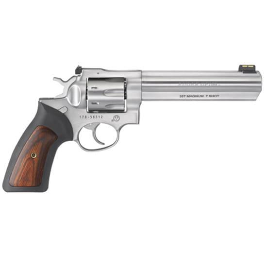 Ruger 1773 GP100 .357 Magnum 6 SS Adjustable FOS 7rd Revolver