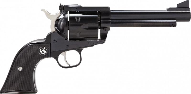 """Ruger 0465 Blackhawk Blued Single .45 LC 5.5"""" 6 Black Rubber Blued Revolver"""