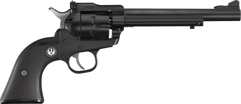 "Ruger 0622 Single-Six Single 22 Long Rifle 6.5"" 6 Black Rubber Blued Revolver"