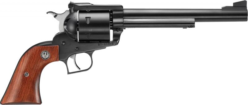 """Ruger 0802 Super Blackhawk Standard Single .44 7.5"""" 6 Hardwood Blued Revolver"""