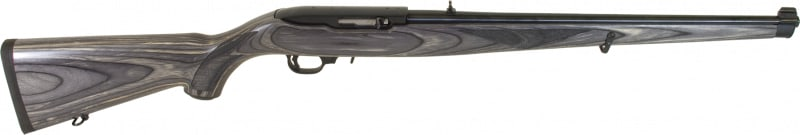 "Ruger 1133 10/22 Carbine Semi-Auto 22 Long Rifle 18.5"" 10+1 Laminate Gray Stock Blued"
