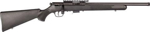 "Savage Arms 93205 93FV-SR 16.5"" HB Fluted Threaded BLACK/BLK SYN<"