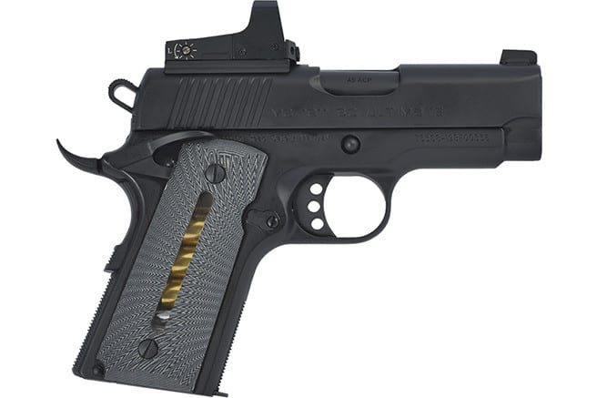 MKE Firearms 390035 Girsan MC1911SC Ultimate Officer ADJ. SGT. Black