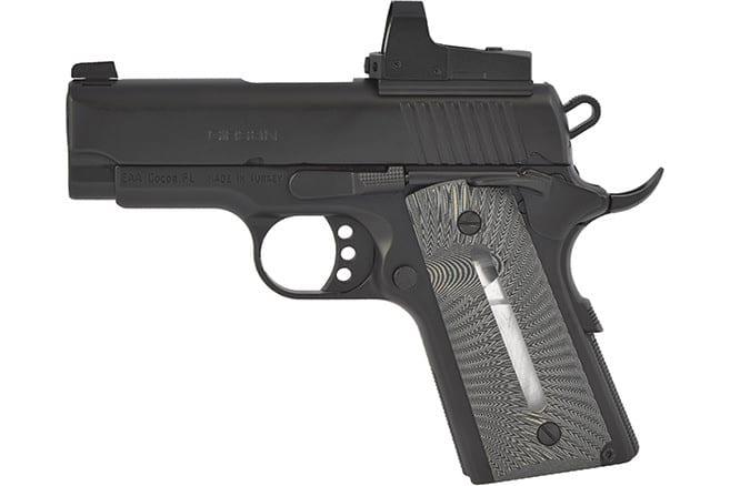MKE Firearms 390036 MC1911SC Ultimate Officer ADJ. SGT. Black