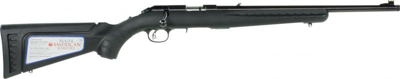 """Ruger 8305 American Rimfire Standard Bolt 22 LR 18"""" 10+1 Blued"""
