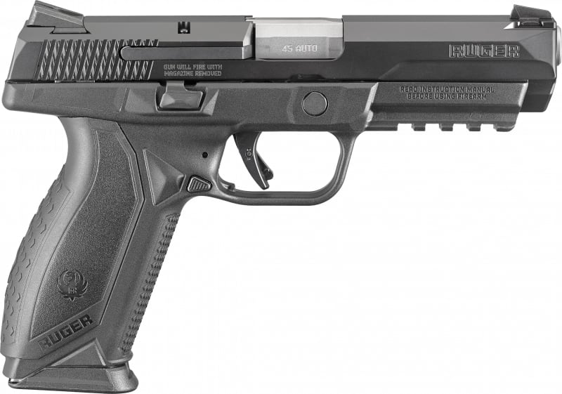 "Ruger 8615 American DA/SA .45 ACP 4.5"" 10+1 Black"