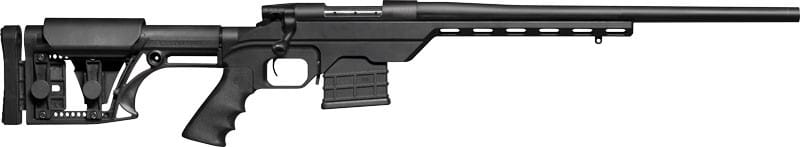 Weatherby VLR308NROT Vanguard .308 Winchester 20 Black Alum Chassis Matte
