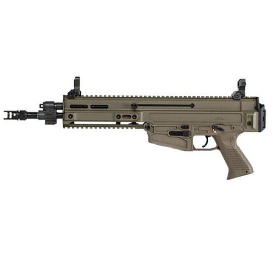 CZ USA 01362 805 Bren S1 .223 Remington 5.56 FDE 1/2X28 Threaded 10R