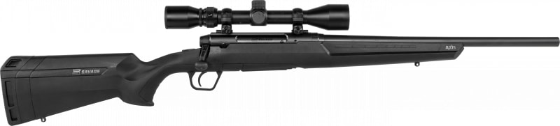 """Savage Arms 57543 Axis XP 18"""" 3-9x40 MATTE/BLK Synthetic Ergo STK"""