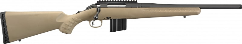 """Ruger 26981 American Ranch FDE .350 Legend 16.38"""" Threaded"""