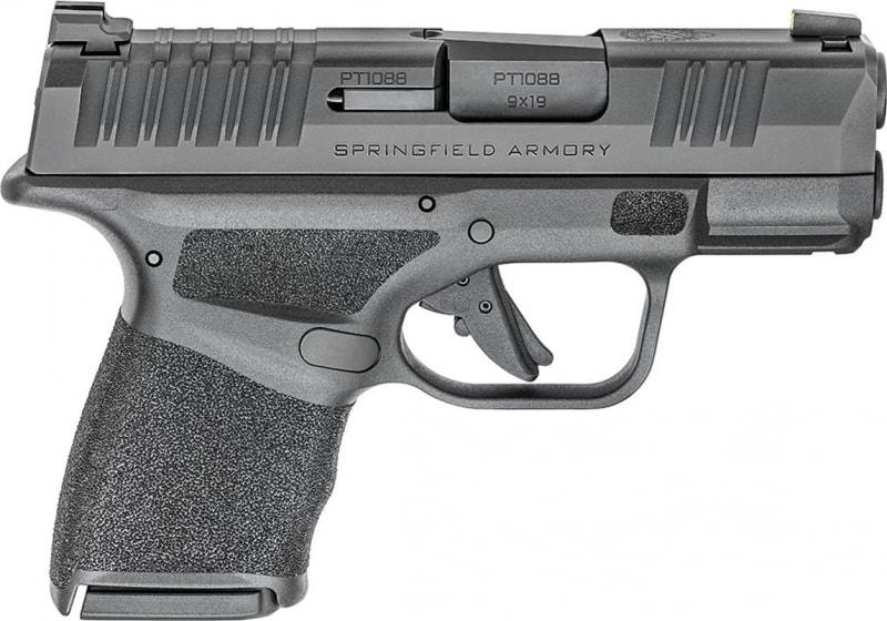 "Springfield Armory HC9319B Hellcat 3"" 11+1/13+1 Black Adaptive Texture Grip"