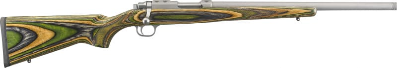 """Ruger 7219 77/17 6+1 18.50"""" Stainless Steel Fixed Stock Right Hand"""