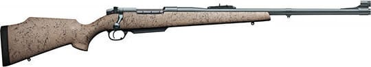 Weatherby MDGM340WR4O MKV DGR 300 Weatherby 24 TAN Black WEB Matte