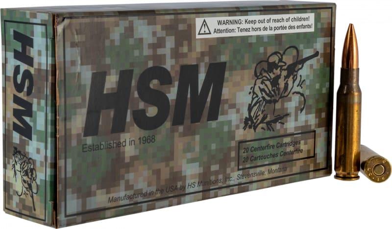 HSM 762X511N 7.62X51 168 Match King - 20rd Box
