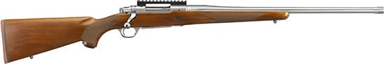 Ruger 57107 Hawkeye Hunter 308 Satin SS