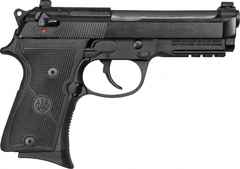 """Beretta 92X FR Compact Semi-Automatic Pistol 9mm 13rd 4.3"""" Barrel W/ Rail - Includes 3 Magazines - GJ92CR921"""