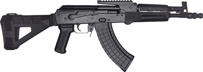 Pioneer Arms AK-0031ESBM47 Arms Hellpup AK Pistol 4-30rd SBM47 w/RAIL