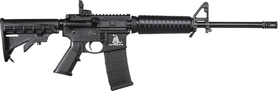 Smith & Wesson 13189 M&P15 Sport II DON'T Tread ON ME 30-SH 6-POS Stock Black