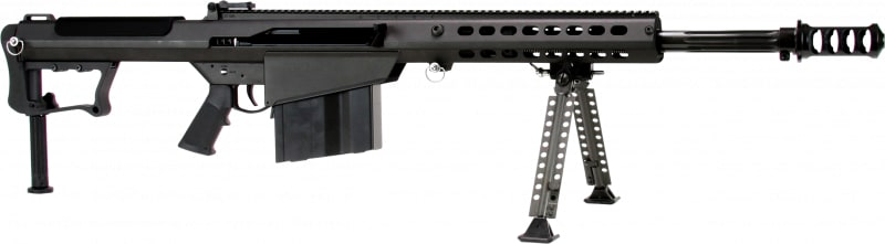 "Barrett 14084 M107A1 Semi-Auto .50 BMG 20"" 10+1 Fixed Black Cerakote"