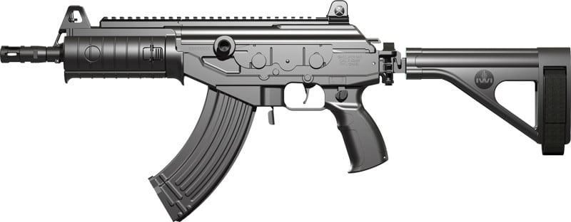 IWI GAP51SB Galil ACE SAP Pistol 7.62NATO 11.8 Black Poly