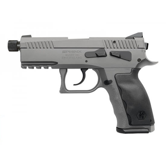Kriss S4WWSXXE021 Sphinx SDP 9mm 3.75 Threaded Comp Alpha WO
