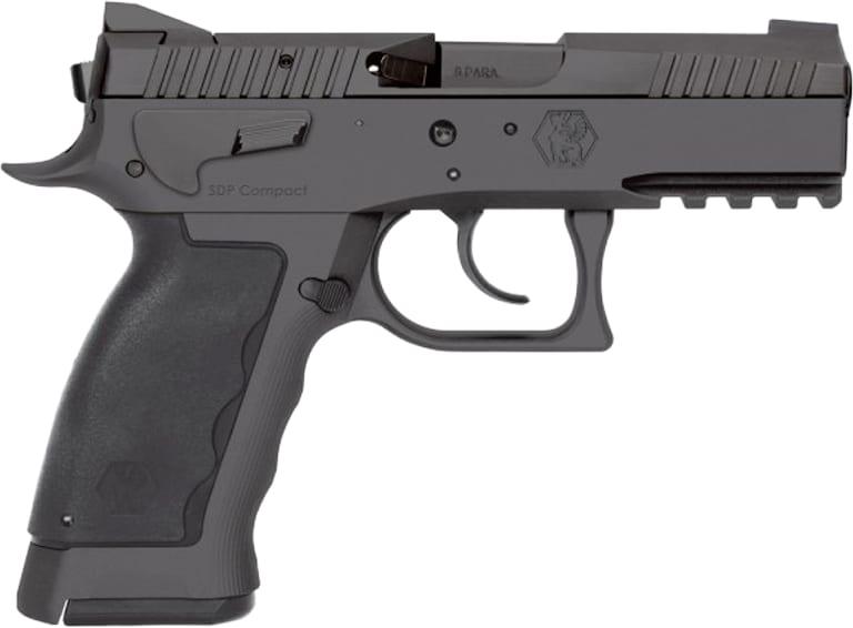 "Kriss USA WSDCME084 Sphinx SPD Compact DA/SA 9mm 3.7"" 10+1 Black Polymer Grip"