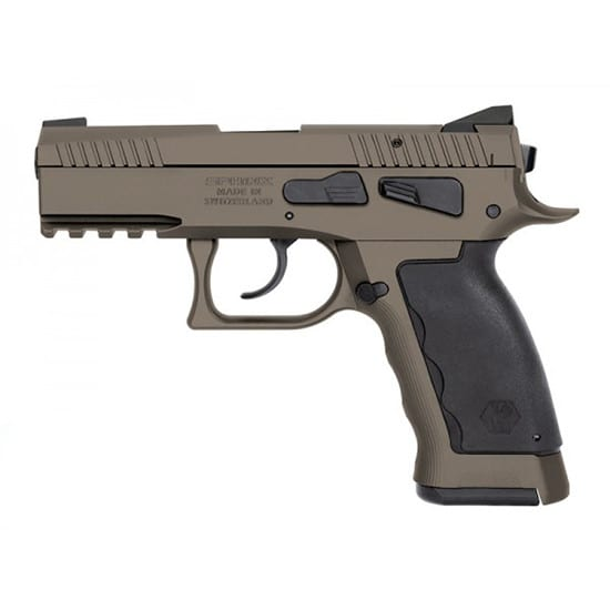 Kriss S4WSDCME091 Sphinx SDP 9mm Comp Sand Duty Dasa 17rd