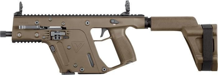 Kriss KV45PSBFD20 Vector SDP 45 ACP G2 5.5 Threaded FDE ARM BRA